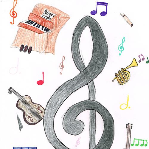 Notenschlüssel von Cosima