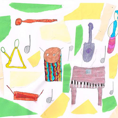 Bunte Instrumentenwelt von Kira